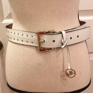 Michael Michael Kors leather belt
